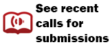 See recent Calls for Submissions